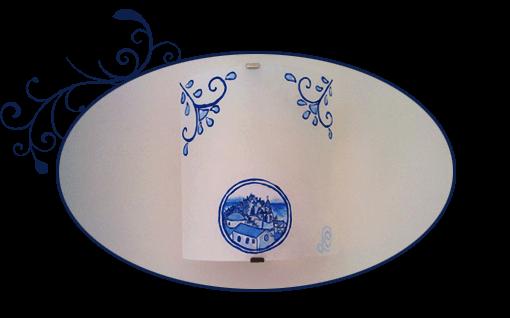 Dettagli della camera matrimoniale Lážvard
